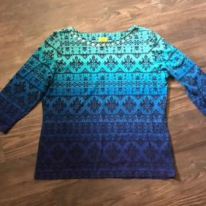Ruby Road Blouse Size XLarge NWT